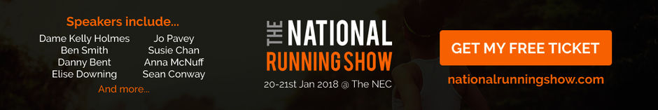 National Running Show - Free Tickets