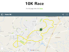 Frome 10k Route