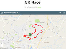 Frome 5k Route