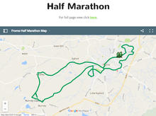 Frome Half Route