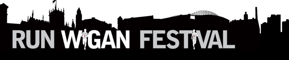 Run Wigan Festival Banner
