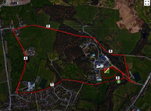 Hopwood Trot Route