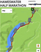 Hawswater Half Route