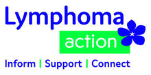 AW Lymphoma Action Logo with strapline CMYK