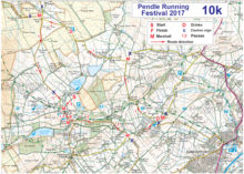 Pendle 10k Route