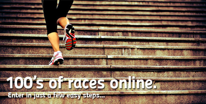 100s of races - enter in easy steps
