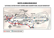 Notts 10 Course Map